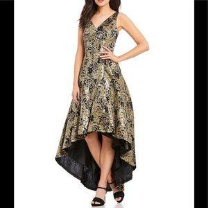Calvin Klein hi-lo ball gown dress
